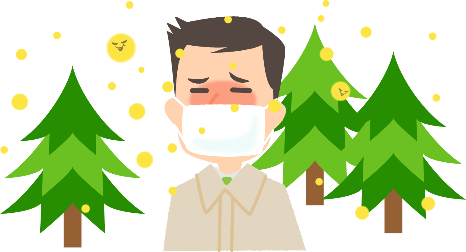 ブロック 注射 花粉
